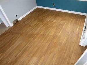 Stain on hardwood floor uneven thefloorsco for How to fix uneven floors