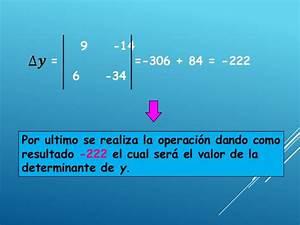 Determinante Berechnen 2x2 : ecuaciones simultaneas 2x2 regla de cramer ~ Themetempest.com Abrechnung