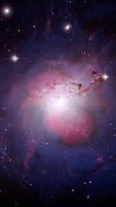 Wallpaper Behemoth Galaxy Ngc 1275 Perseus A Hubble