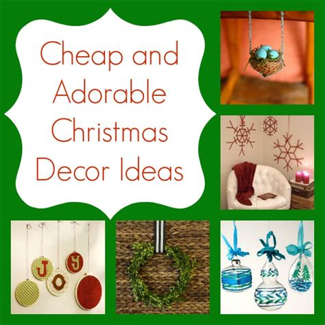 cheap  adorable christmas decor ideas
