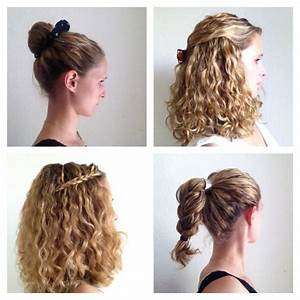 Four styling ideas for curly hair JustCurly