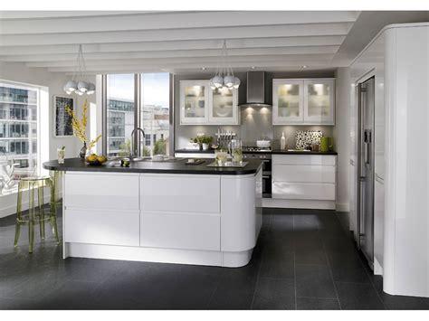 photo de cuisine design cuisine blanche pas cher sur cuisine lareduc com