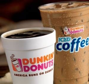 Starting monday, august 3, dunkin' perks members (yes, you must be a member, but it's free to join) can get a free medium cup of hot or iced coffee with the purchase of any dunkin' food item. Dunkin Donuts: Free Coffee Monday's in March :: Southern Savers