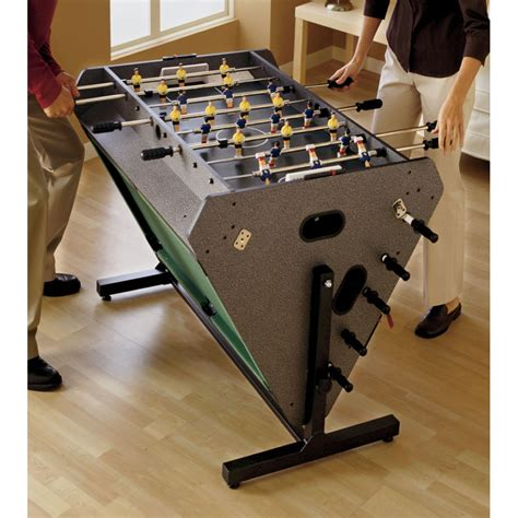 3 in one game table the 3 in 1 rotating game table hammacher schlemmer