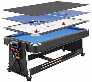 Revolver 3-in-1 Pool, Air Hockey and Table Tennis Table