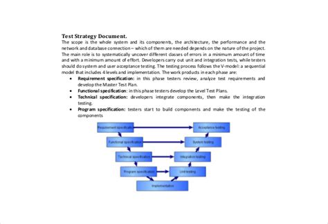 test strategy template 13 test strategy templates free sle exle format free premium templates