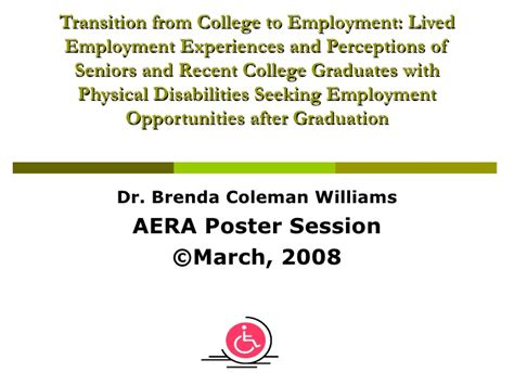 Why Are You Seeking Employment by Transition From College To Employment Lived Employment