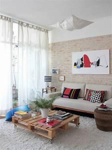 Table Salon Scandinave : plusieurs designs pour la table de salon en palette ~ Teatrodelosmanantiales.com Idées de Décoration