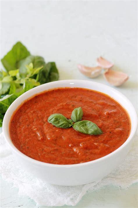 sauce tomate au basilic recette facile cuisine culinaire