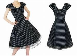 Robe Retro Année 50 : robe annee 50 femme ~ Nature-et-papiers.com Idées de Décoration