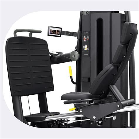 selection pro leg press machine technogym