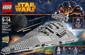 LEGO Star Wars Imperial Star Destroyer Building Toy 75055 ...