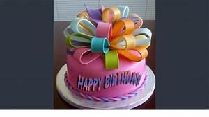 happy birthday cake image pictures - YouTube