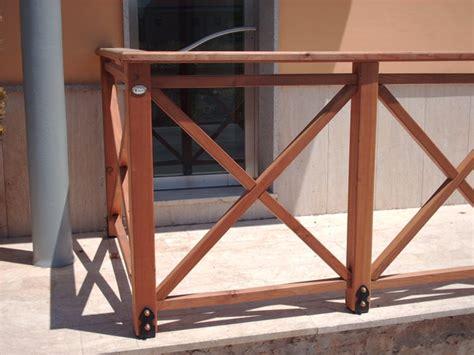 ringhiera in legno per esterno ringhiere in legno per esterno segesta fraz di