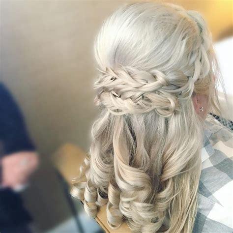 mother   bride hairstyles  elegant