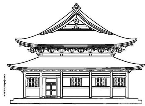 chambre japonaise traditionnelle coloriages palais japonais fr hellokids com
