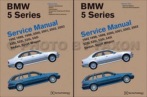 automotive service manuals 1993 bmw 5 series free book repair manuals 1997 2003 bmw 5 series bentley repair shop manual 2 volume set
