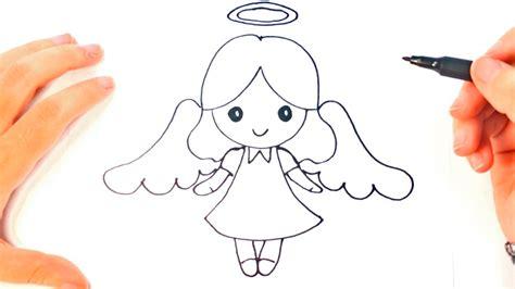 draw  angel  kids angel easy draw tutorial