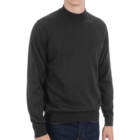 turtle sweaters balenciaga mens turtle neck sweater in blue for navy