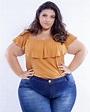 Ana Paula Onselen, huge Brazilian plus model - Plus-Size ...