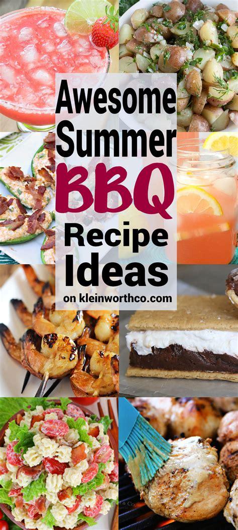 bbq recipe ideas awesome summer bbq recipe ideas kleinworth co