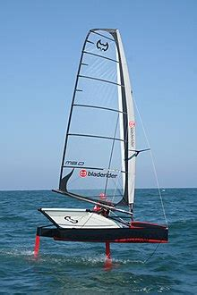 Ac62 Boat by Sailing Hydrofoil