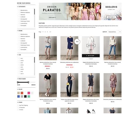 Bigcommerce Template Variables by Bigcommerce Add Ons Ajax Layered Navigation Now