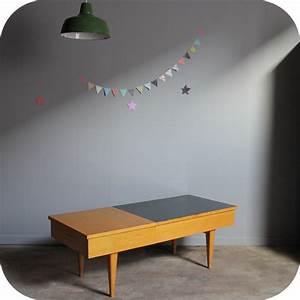 Table Basse Vintage Bois : table basse bois vintage c260 atelier du petit parc ~ Melissatoandfro.com Idées de Décoration