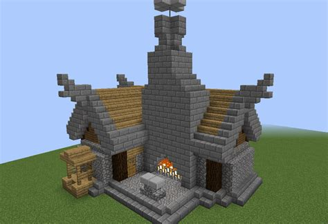 Build Blueprints by Nordic Town Blacksmith Grabcraft Your Number One