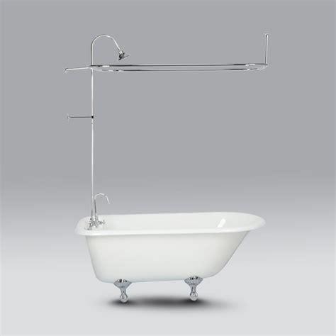 clawfoot tub shower attachment bath shower convert your tub into a clawfoot