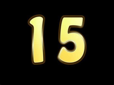 Magical Number 15! - YouTube