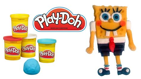 Como Hacer Bob Esponja Plastilina How to make Play doh