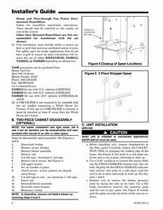 Trane Air Handler  Indoor Blower U0026evap  Manual L0905031