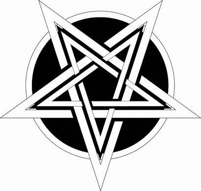 Symbols Satan Symbol Devil Temple Pentagram Satanism