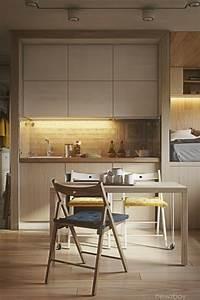 Amenager Petit Balcon Appartement : am nager un petit appartement le d fi favori des designers ~ Zukunftsfamilie.com Idées de Décoration