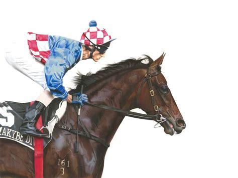 makybe diva makybe diva horses horse racing horse art