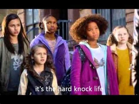 Annie (2014) soundtracks on imdb: hard knock life annie 2014 lyrics - YouTube