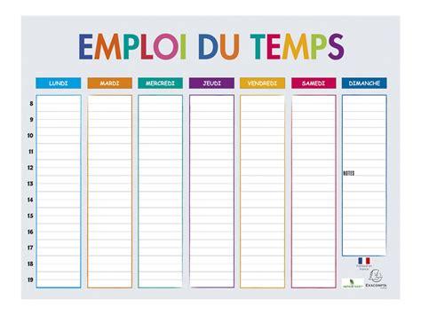 mobilier bureau discount exacompta multicolore emploi du temps calendriers