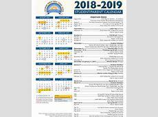 View Our 201819 Academic Calendar — Jefferson Parish