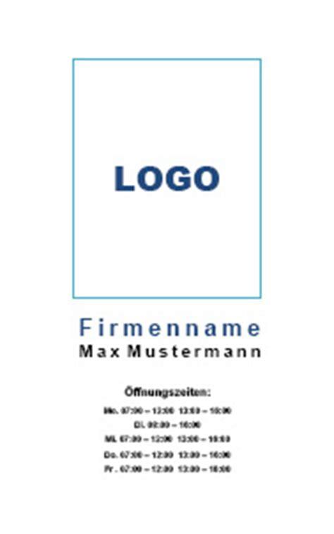 firmenschilder word vorlagen  kostenlos