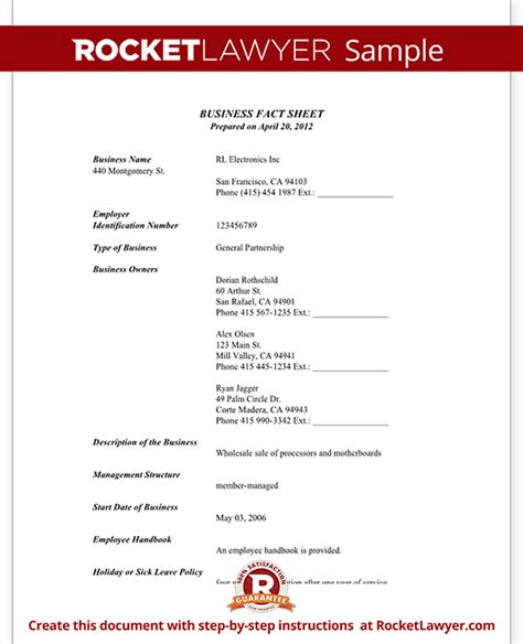 Business Fact Sheet With Template & Sample. Make A Facebook Banner. Contractor Invoice Template Excel. Memorial Service Invitations Template. Medical School Graduation Gift Ideas. Simple Birth Plan Template. Free Printable Birthday Coupons Template. Wedding Church Program Template. Free Fax Coversheet Template