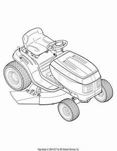 Troy Bilt 13ao77tg766 Bronco  2006  Parts Diagram For
