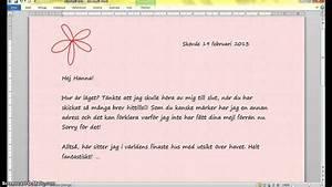Hur skriver man formellt brev