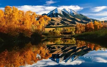 Bing Windows Wallpapers Mountain Montana Peak Lake