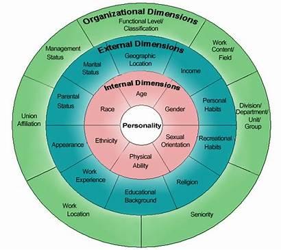 Diversity Center Layers Chart Organizational Four Cultural