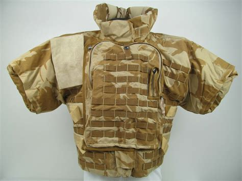British Army Nato Desert Camo Kestrel Bullet Proof Kevlar