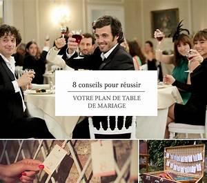 Plan De Table Mariage Gratuit : 8 conseils pour r ussir votre plan de table ~ Melissatoandfro.com Idées de Décoration