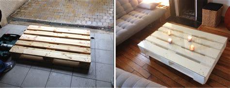 La Clamartoise DIY  une table basse en palette
