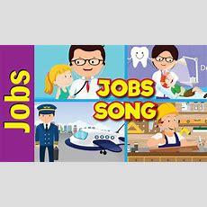 Jobs Song For Kids  What Do You Do?  Occupations  Kindergarten, Preschool, Esl  Fun Kids