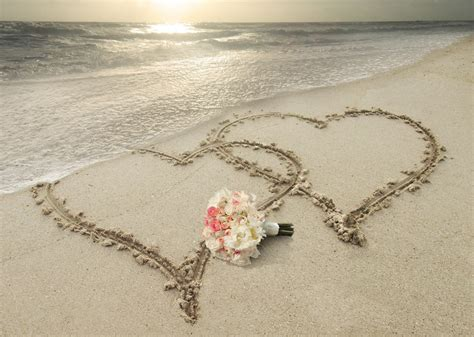 Love Beach Sunset Nature Light Heart Summer Flower Sky Sun